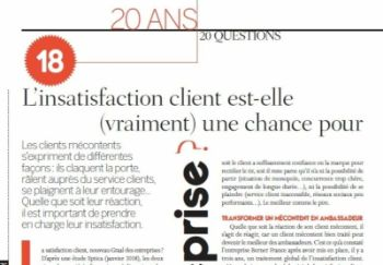 Relation Client Mag - 20 ans