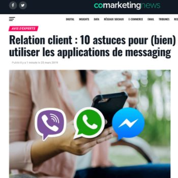 Article sur Comarketingnew