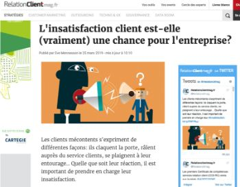 Mention sur RelationClientMag