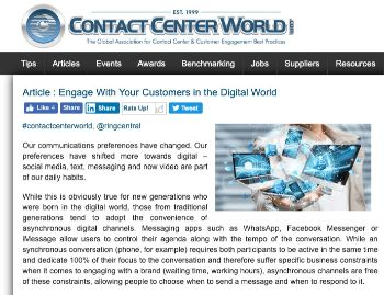 ContactCenterWorld
