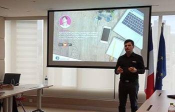 Conférence au Club des Entrepreneurs de Hong Kong