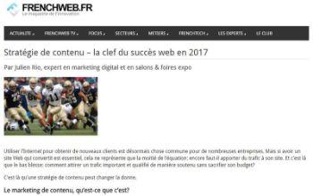 Article publié sur FrenchWeb.fr