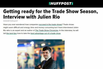 Exclusive interview on Huffington Post