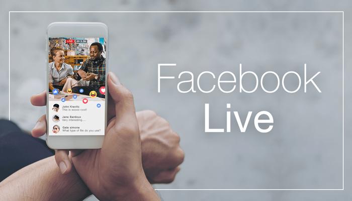 Digital Marketing Facebook Live