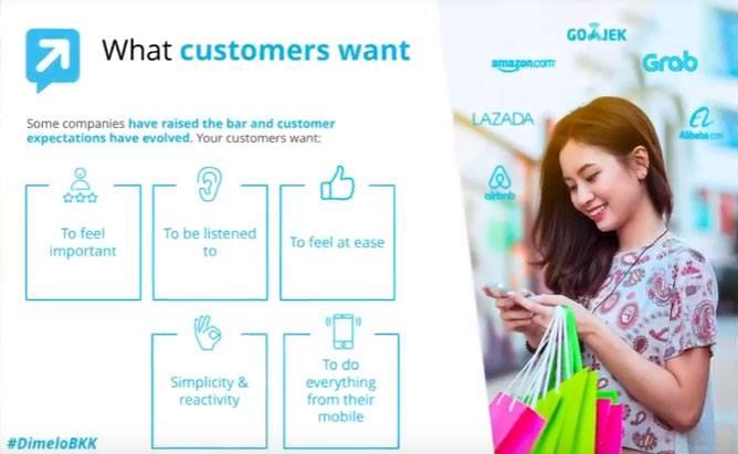 JulienRio.com: Conference Telecoms World Asia Customer Care Dimelo