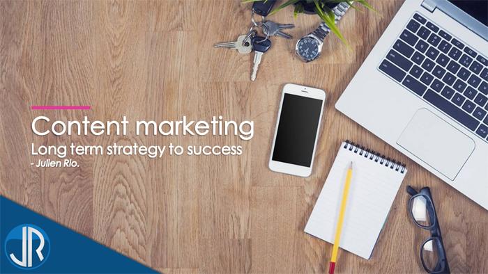 JulienRio.com - Mise en place d'une stratégie de contenu - conférence au club des entrepreneurs de HK