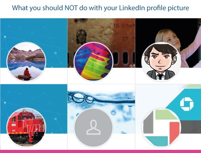 Horrible LinkedIn profile pictures - mistakes to avoid