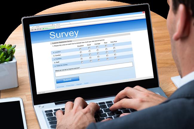 JulienRio.com Survey questionnaire closed question