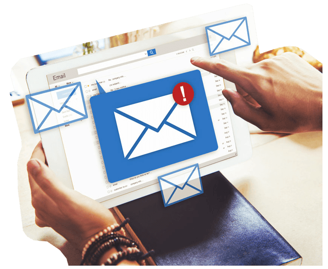 Contct center email management