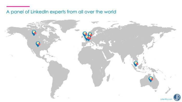 LinkedIn Experts map