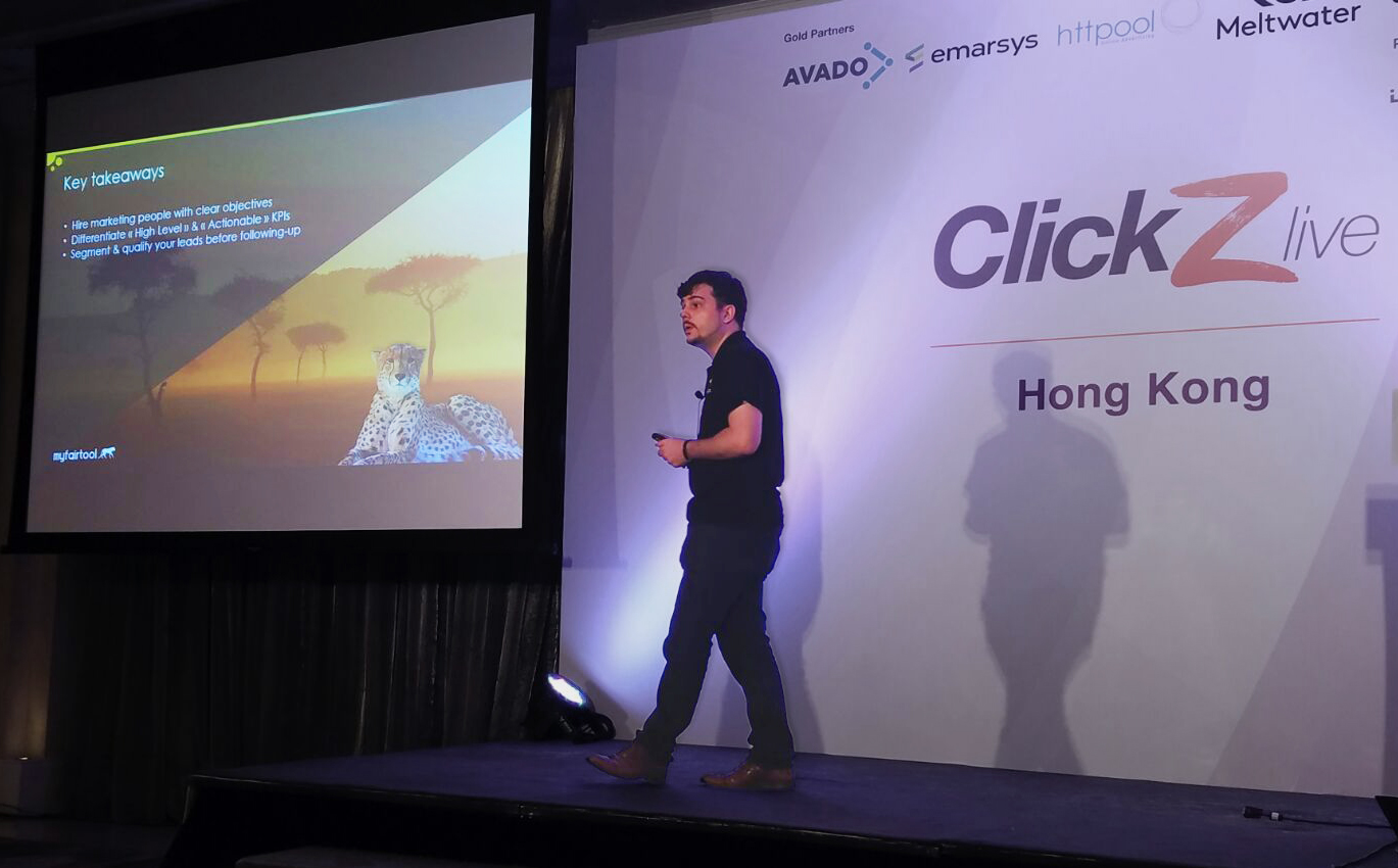 B2B Strategy in a buyer-empowered era - speaking @ ClickZ Live Hong Kong