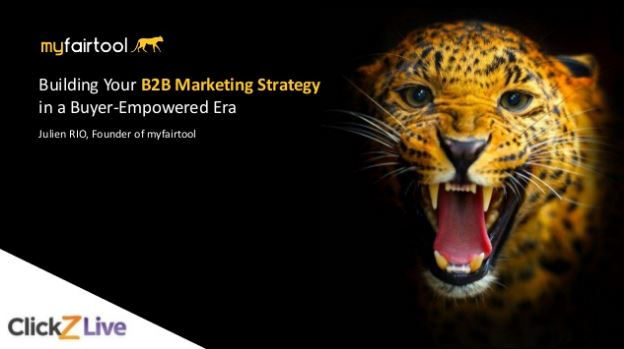 B2B Strategy in a buyer-empowered era - speaking @ ClickZ Live Hong Kong