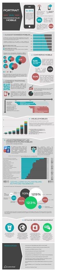 JulienRio.com: Evolution mobile infographie