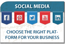 Choose the right Social Media platform for your business