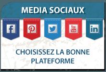 Choisissez la bonne plateforme pour vos média sociaux