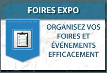 Organisez vos foires expo et vos événements efficacement
