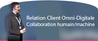 Human / Machine collaboration for omni-digital customer care